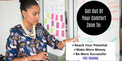 Get Out Of My Comfort Zone - Webinar