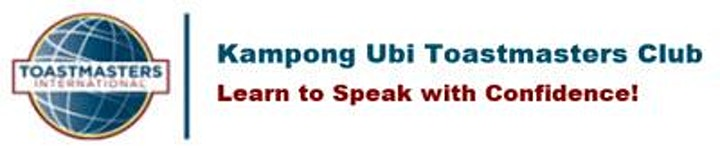 Learn Public Speaking  with Toastmasters (Online Event) image