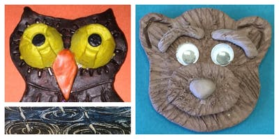 Canvas and Clay Mini-Camp (5-12 Years)