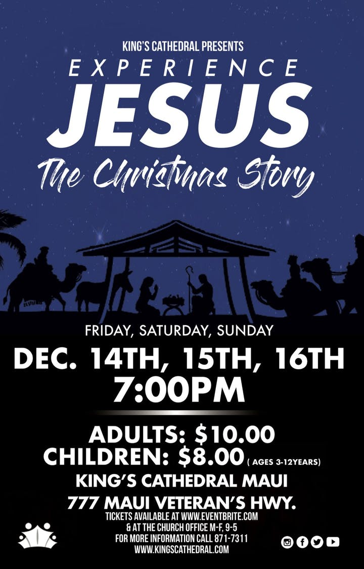 Experience Jesus: The Christmas Story Tickets, Fri, Dec 14, 2018 at ...
