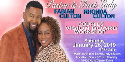 Married Couples Vision Board Workshop
