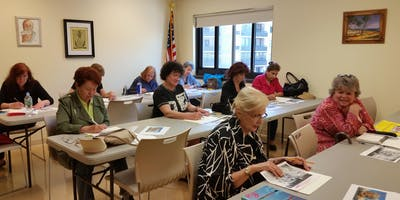 Free Art Classes at the Cliffside Park Senior Cent