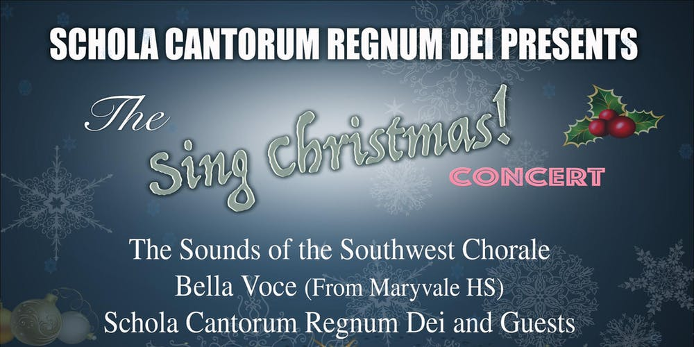 Sing Christmas Concert Tickets, Fri, Dec 14, 2018 at 8:00 PM ...