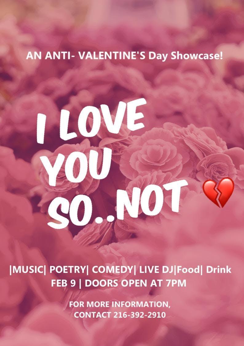 An Anti Valentine S Day Showcase Benefit For Aisha Fraser 9 Feb 2019