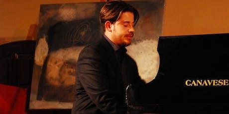 ALESSANDRO CAPONE piano recital biglietti
