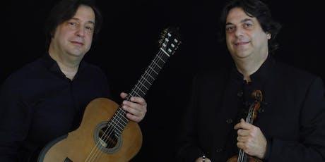 TORTORELLIS viola & guitar duo biglietti