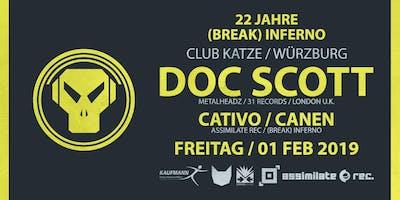 Drum&Bass: 22 Jahre (Break) Inferno pres. DOC SCOTT