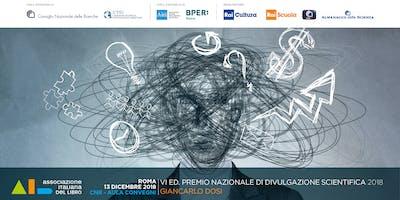 Premio Nazionale di Divulgazione Scientifica 2018 | Giancarlo Dosi
