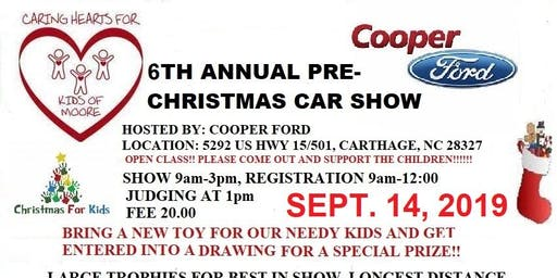 6TH ANNUAL PRE-CHRISTMAS CAR SHOW