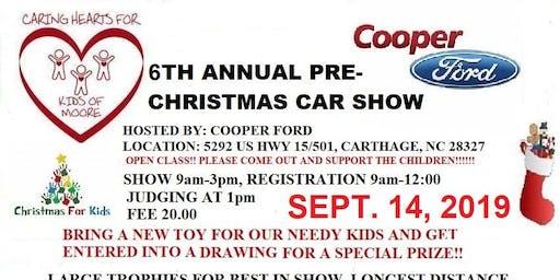 6TH ANNUAL PRE-CHRISTMAS CAR SHOW