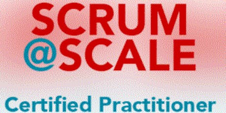 Certified Scrum@Scale Practitioner - London, UK- Weekdays - Best Price tickets