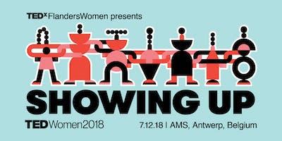 TEDxFlandersWomen // 2018 Showing up // AMS students