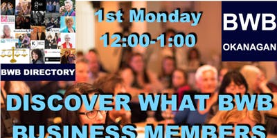 May - BWB Lunch & Learn
