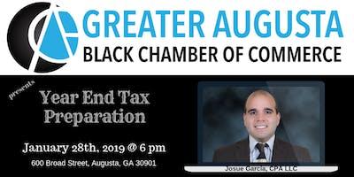GABCC presents Year End Tax Preparation with Josue Garcia
