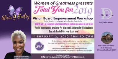 """WOG presents """"Total You"""" Vision Board Empowerment Workshop"""