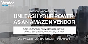 Unleash your Power as an Amazon Vendor - Intensive...