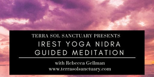iRest Yoga Nidra Guided Meditation Class