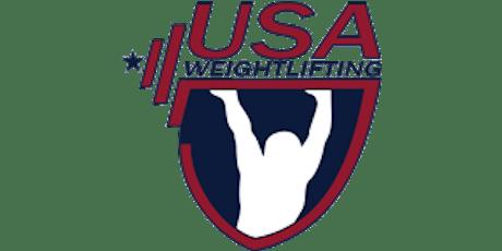 2020 Testify Barbell Blizzard Weightlifting Meet tickets