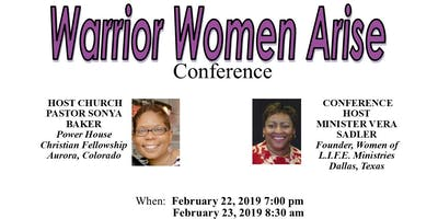 Women of L.I.F.E. Warrior Women Arise Conference