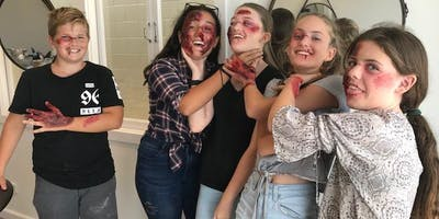 Special effects makeup for teens - 2.5 hr workshop
