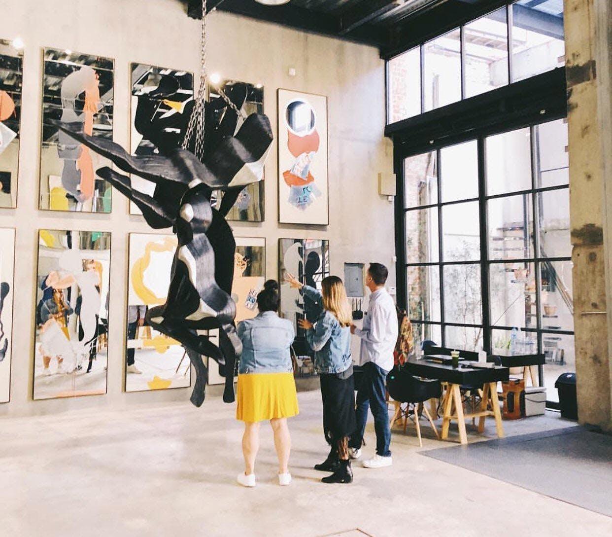 Exploring Art Galleries in Mexico City