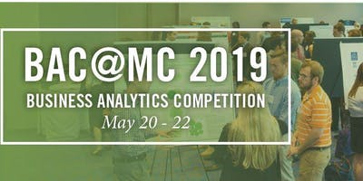 Team Registration - MC Business Analytics Competition 2019