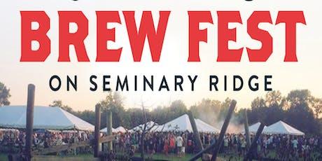 Gettysburg Brew Fest 2019 tickets