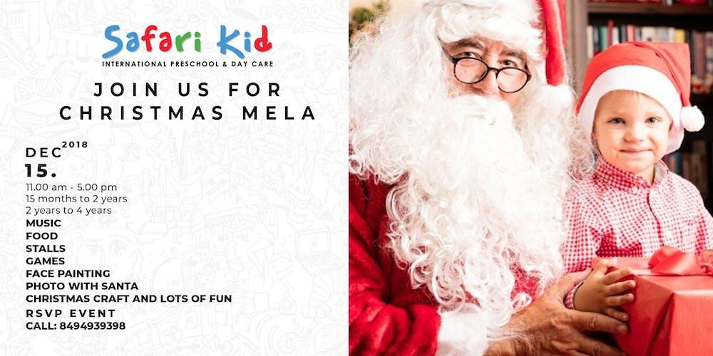 Safari Kid Christmas Mela Tickets, Sat, 15 Dec 2018 at 11:00 ...