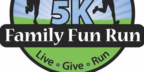 Family Fun 5k Run/Walk tickets