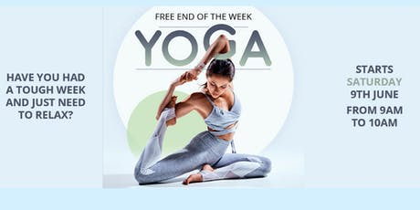Free Saturday Yoga tickets