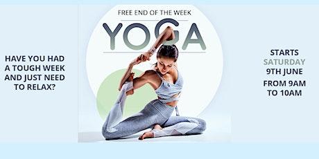Free Saturday Yoga tickets