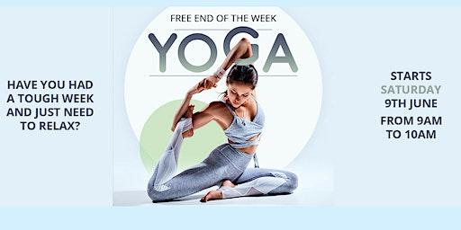 Free Saturday Yoga