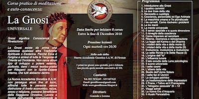 Firenze - La Gnosi Universale - Corso di Meditazione: Dicembre 2018
