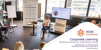 Corporate Learning Tagesworkshop, Berlin, 06.11.19