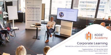 Corporate Learning Tagesworkshop, Berlin, 06.11.2019 Tickets