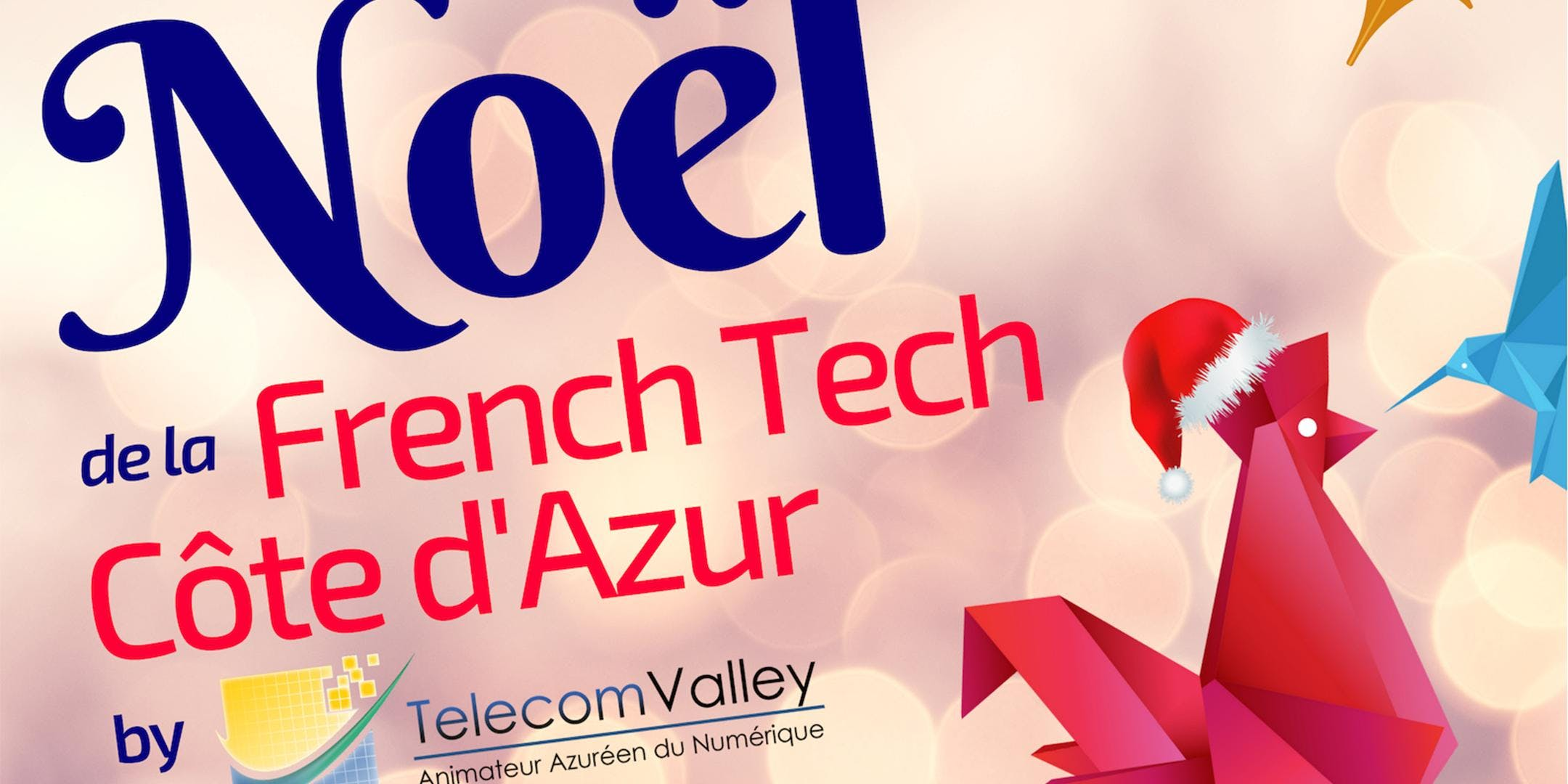 Noël de la French Tech Côte d'Azur by Telecom