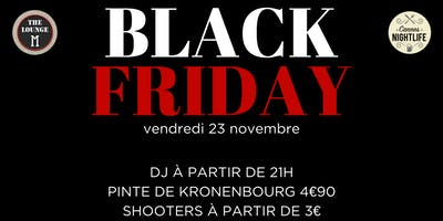 "Soirée \""Black Friday\"""