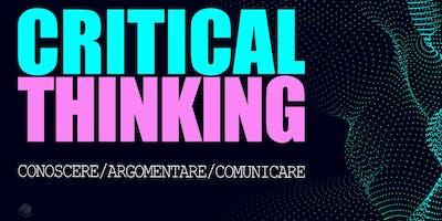 Critical thinking: argomentare e convincere senza ingannare