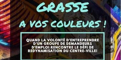 "Inauguration \""Grasse à vos couleurs\"""