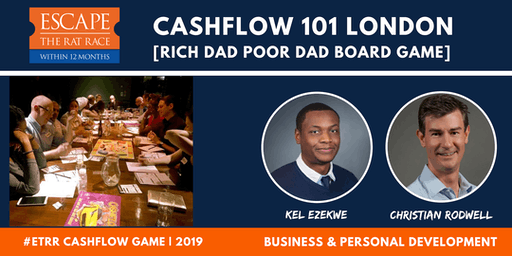 Cashflow 101 Game Night London: [Rich Dad Poor Dad Board Game]