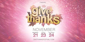 GIVE THANKS 2018: Sold-Out