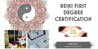 Reiki First Degree Certification