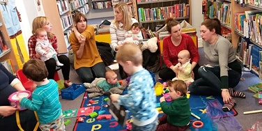 Hucclecote Library- Baby Bounce and Rhyme