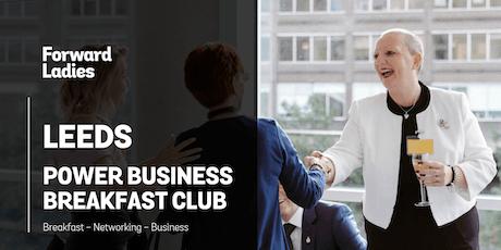 Leeds Power Business Breakfast Club - December tickets