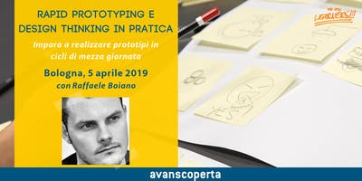 Rapid Prototyping e Design Thinking in pratica 2019