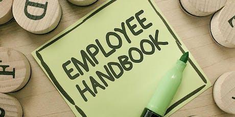 Employee Handbook Workshop tickets