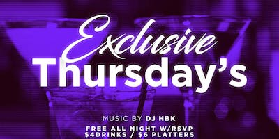 {Exclusive Thursdays}  NFL & NBA Watch/ After Party {Each & Every Thursday @ Mirage Lounge 9pm-2am}