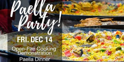 Open-Fire Cooking Demo & Paella Dinner