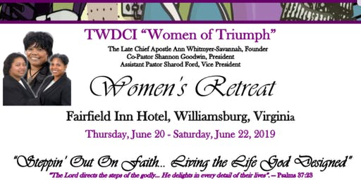 2019 TWDCI Women's Retreat
