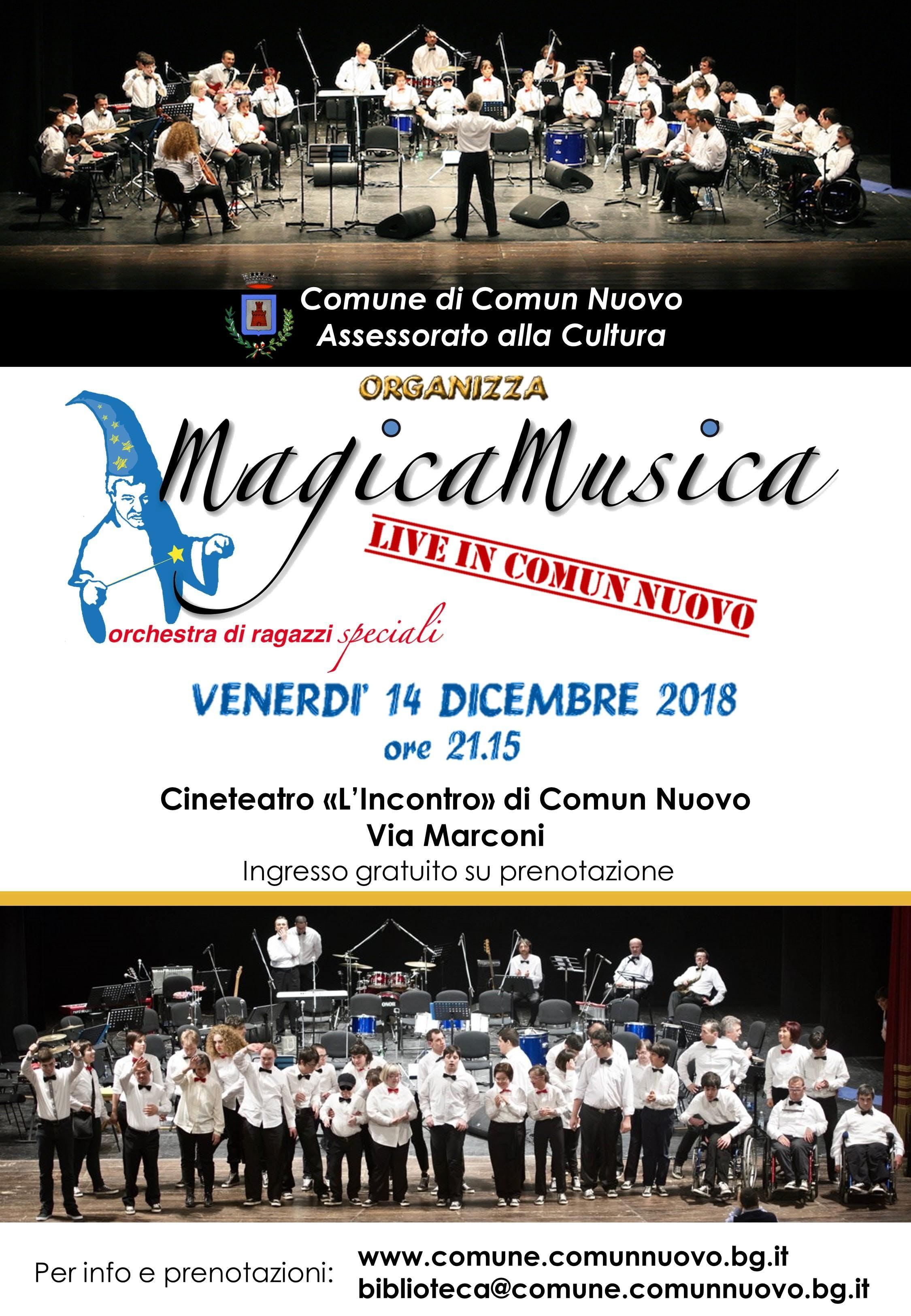 MAGICA MUSICA Live in Comun Nuovo
